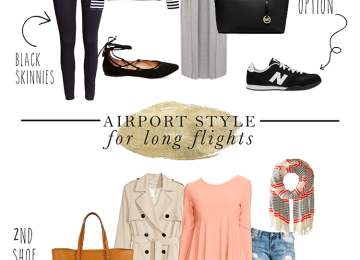 Airport Style for Long Flights