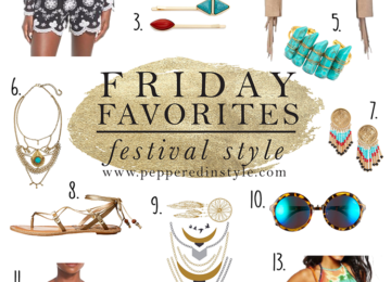 Festival style inspirations