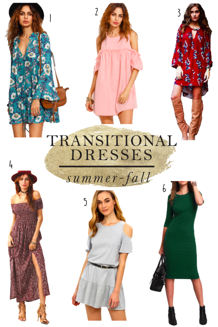 she in transitional dresses summer fall dresses
