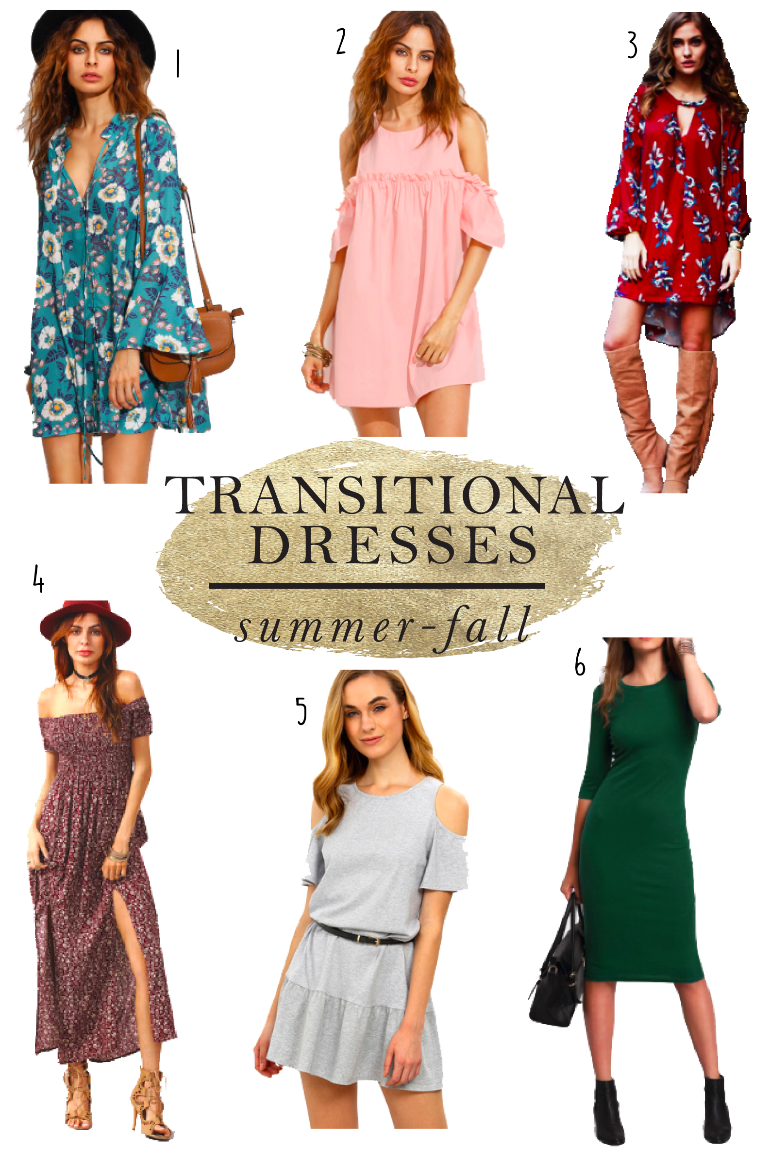 0e803e677345 Peppered In Style - FRIDAY-FAVES-Shein-Transitional-dresses ...