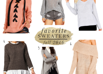 sweaters for fall