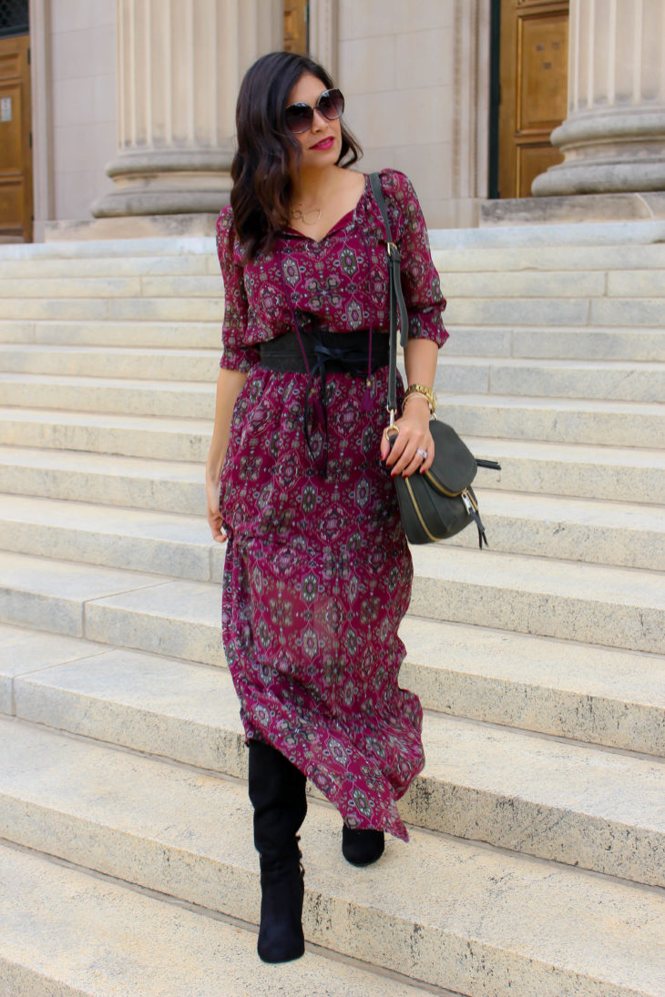 Boho Chic Outfit for Fall