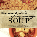 Tuscan Kale and Spicy Sausage Soup