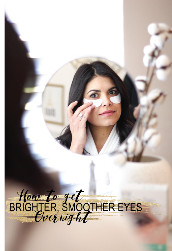 How to Get Brighter, Smoother Eyes Overnight