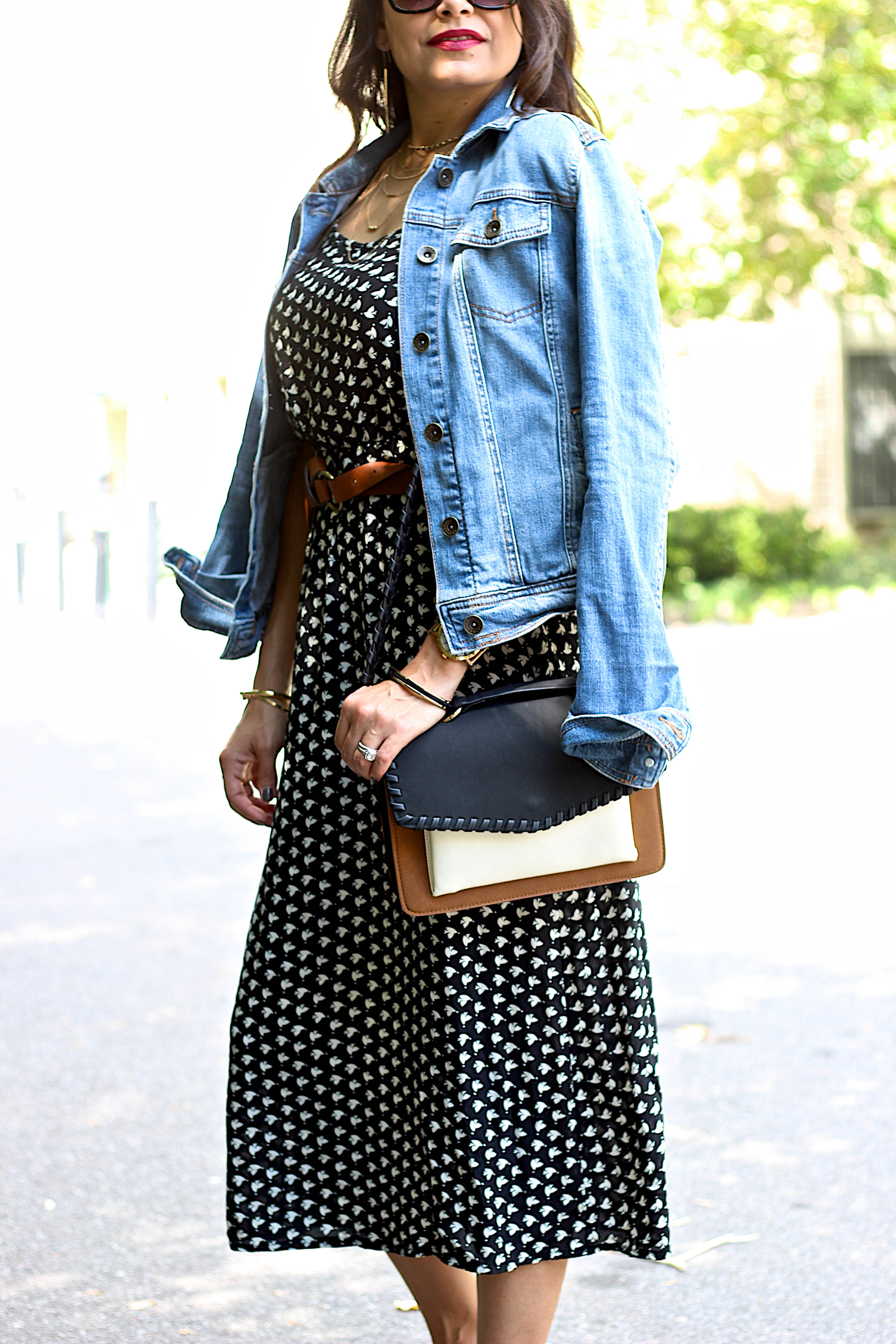 cami dress for fall who what wear crossbody