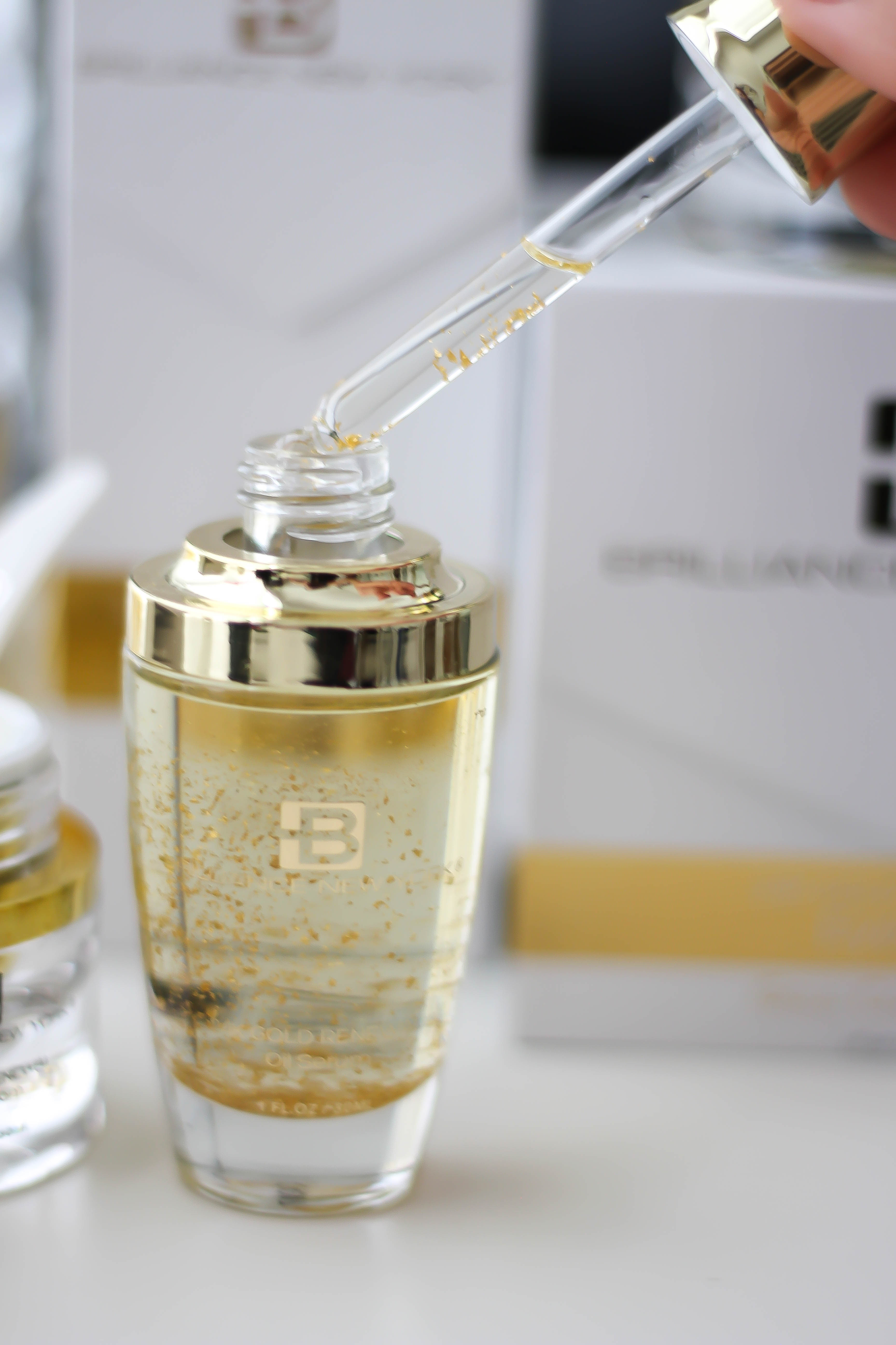 Pamper Your Skin With Gold- Brilliance NY Luxury Skincare