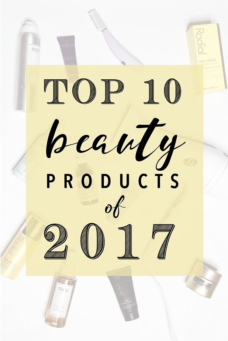 Top 10 Beauty Products of 2017