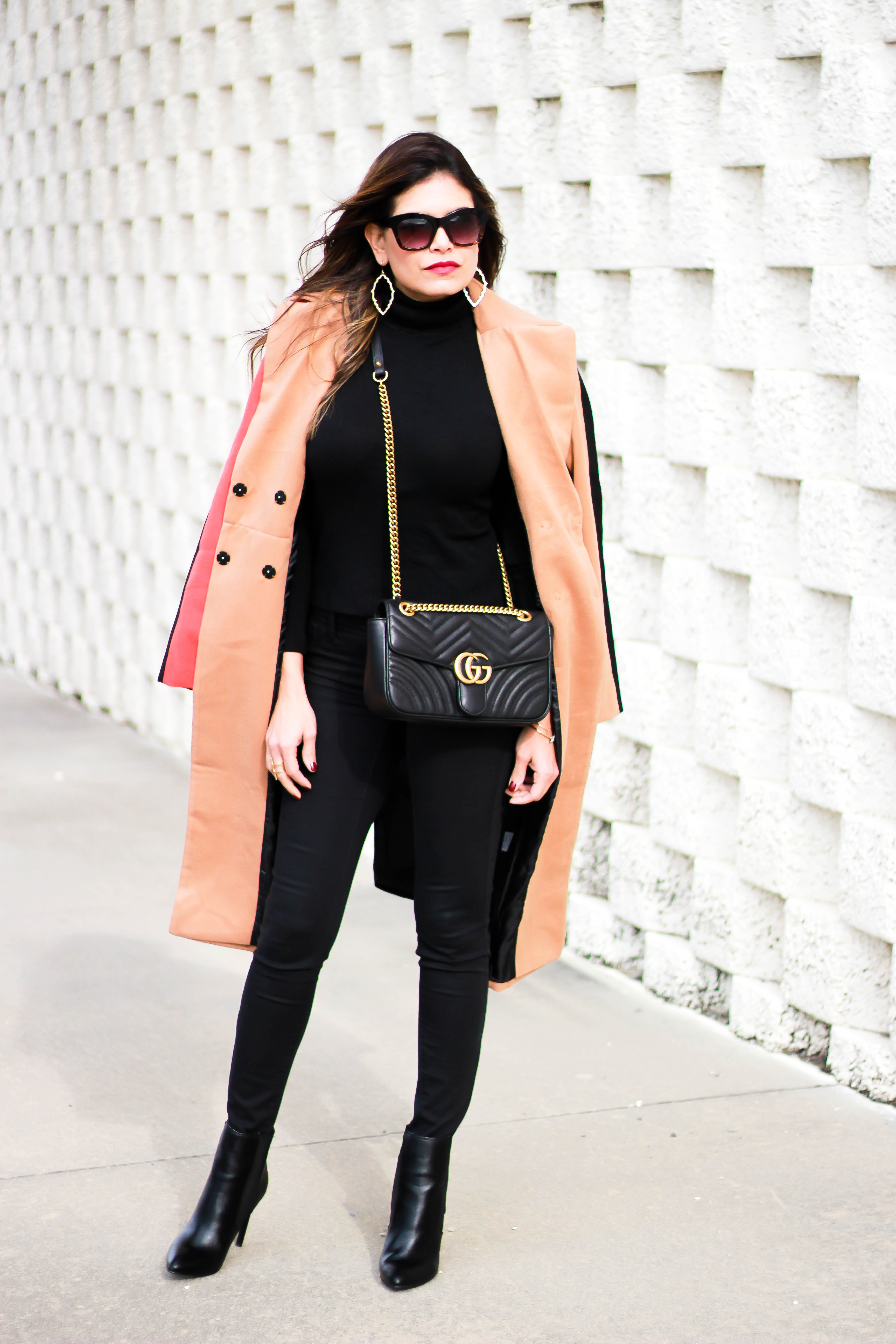 Peppered In Style Classic Coat With A Twist