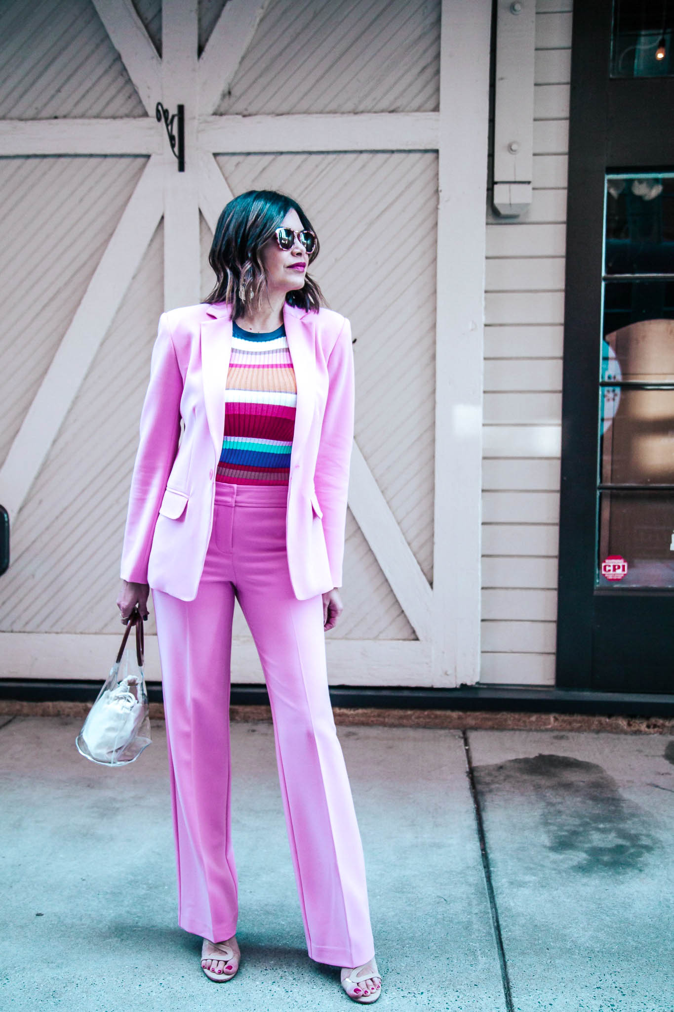 The Pink Power Suit Every Woman Needs - Trina Turk